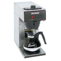 Bunn 13300.0011 Commercial Coffee Brewer Pour Over, 1 Warmer front-622247