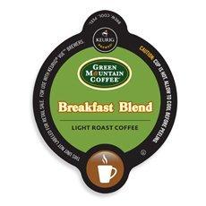 Green Mountain Breakfast Blend Coffee Keurig Vue Portion Pack, 32 Count