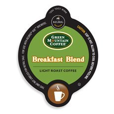 Green Mountain Breakfast Blend Coffee Keurig Vue Portion Pack, 32 Count front-617187