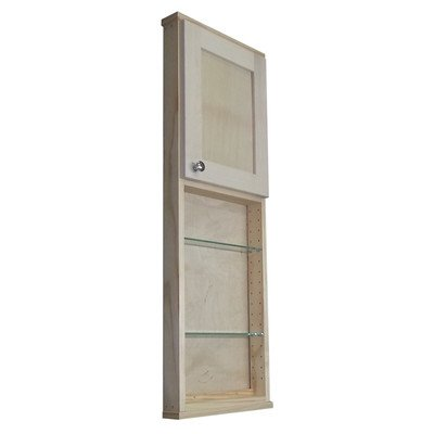 "Shaker Series 15"" x 43.5"" Surface Mount Medicine Cabinet"