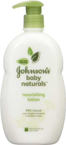 Johnson's Natural Nourishing Baby Lotion, 18 Ounce (All Natural Products compare prices)