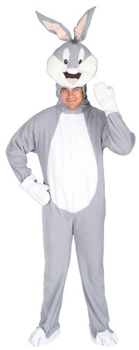 Rubie's Costume Co Men's Looney Tunes Bugs Bunny Adult Costume
