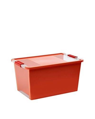 Kis Set Contenitore Organizzazione Spazi 5 pezzi Bi Box L Rosso