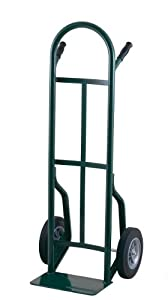 Harper Trucks 53T86 500-Pound Capacity Steel Hand Truck with Continuous Handle and Dual Pins