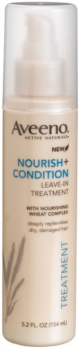Aveeno Nourish + Condition Treatment Spray, leave-in treatment 5.2 Ounce (Deep Conditioner Wheat compare prices)