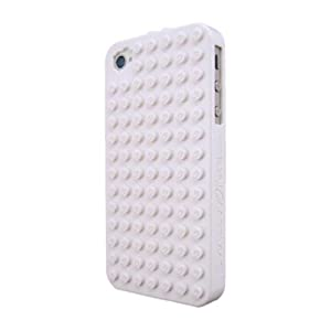 SmallWorks BrickCase for iPhone 4 & 4S - Verizon, AT&T & Sprint (White)