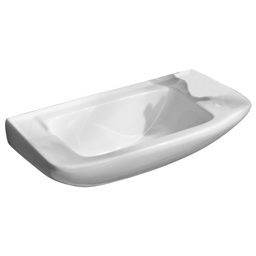Read About Porcher 25011-00.001 Elfe Wall-Mounted Hand Basin, White