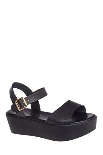 Feline Mid Heel Platform Sandal