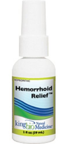 King Bio Natural Medicine Homeopathic Remedies for Hemorrhoid Relief, 2 Fluid Ounce