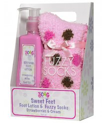 Girls Pampering Pack for Feet (Strawberry)