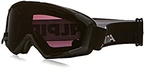 ALPINA Skibrille Panoma Magnetic, Black Matt, One size, 7080031