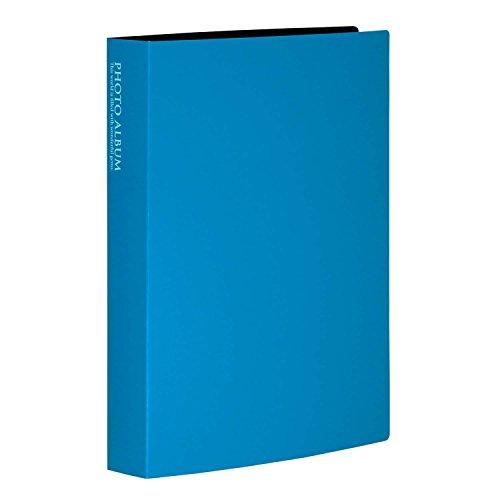 SEKISEI アルバム ポケット フォトアルバム 高透明 Lサイズ 160枚収容 L 151~200枚 ブルー KP-160
