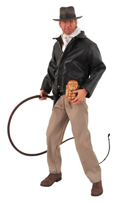 Picture of Diamond Select Indiana Jones: Raiders of the Lost Ark: Ultimate 1:4 Scale Action Figure (B001F0PGKI) (Diamond Select Action Figures)