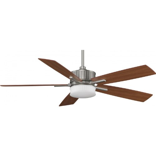 Fanimation Landan 60 Inch Indoor Ceiling Fan - Satin Nickel