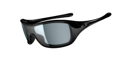Oakley Ideal Women's Sunglasses – Polished Black w/ Grey Lens