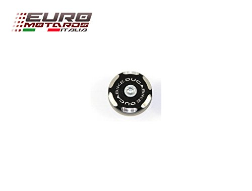 Ducati Monster 900 Ducabike Italy Left Front Axle Cap Bicolour Black