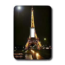 Vacation Spots - Eiffel Tower - Light Switch Covers - single toggle switch