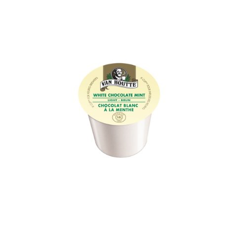 Van Houtte White Chocolate Mint Coffee K-Cups (Case Of 96)
