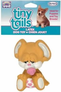 Vo-Toys Latex New Born Mouse Dog Toy