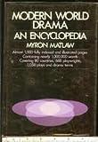 img - for Modern world drama;: An encyclopedia by Myron Matlaw (1972-05-03) book / textbook / text book