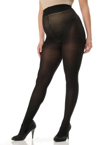 Motherhood Plus Size Opaque Maternity Tights