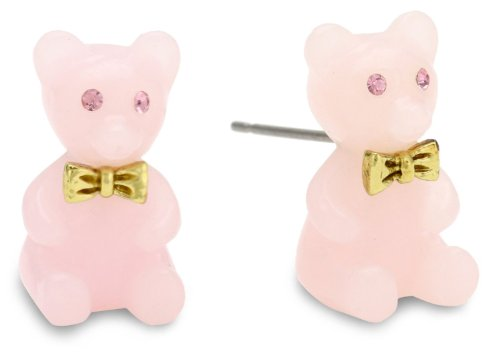 Betsey Johnson Candyland Candy Land Gummy Bear Stud Earrings front-946385