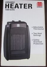 Warmwave 1500 Watt Oscillating Ceramic Heater