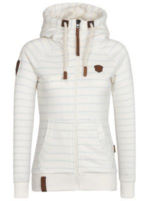Naketano Female Zipped Jacket Brazzo Sailor III So Natural Melange, XS