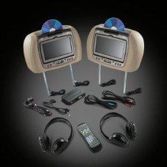2010-2012 Cadillac CTS Sport Sedan/Wagon RES-Head Restraint DVD System by GM 22932705