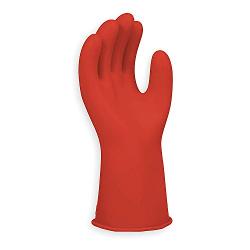 Electrical Gloves, Size 8, Red, 11 In. L, Pair