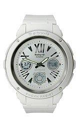 Casio Women'S Bga152-7B1 Baby-G Baby-G Shock White Analog Watch front-978691