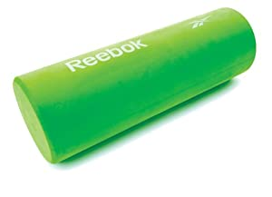 Reebok Professional Fitness Equipment Schaumrolle Short Full Round Roller, 45.5 x 15 x 15 cm
