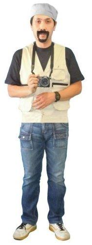 忘年会に!あなたも戦場カメラマン!渡部陽一 戦場写真家 仮装ものまね2点セット