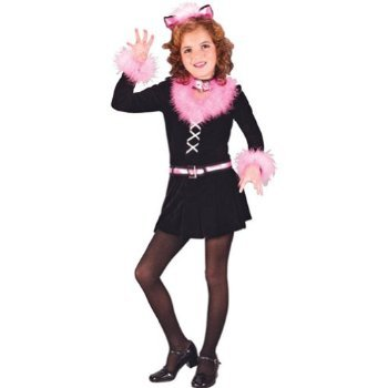 Marabou Cat Child Lg Costume Item - Funworld