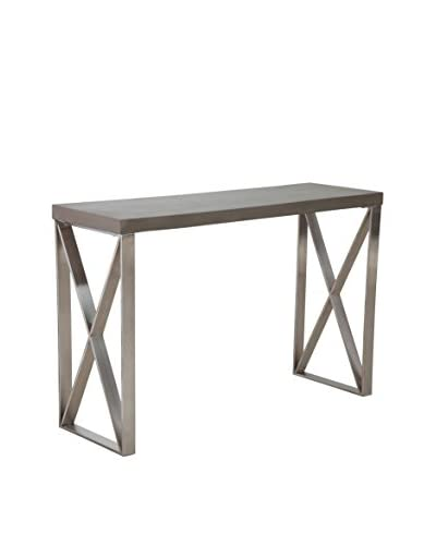Zuo Modern Paragon Console Table, Cement