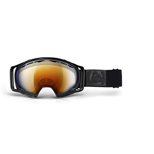 K2 Skis Herren Skibrille Photokinetic Burnt - Octic Mirror, Black, One size, 1034201.1.3