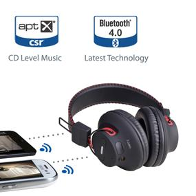 Avantree Audition, NFC Bluetooth stereo headphones connects 2 mobiles at the same time