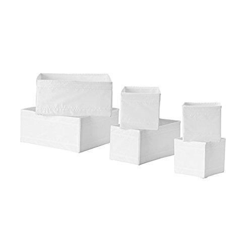 1-x-contenitore-ikea-skubb-organizer-per-cassetti-confezione-da-6-colore-bianco