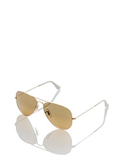 Ray-Ban Sonnenbrille 3025 001/3K -58 -14 -135_- vergoldet one size