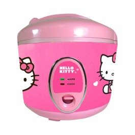 Licensed-Hello-Kitty-Cookware-PINK-Rice-Cooker-and-Steamer