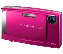 Bundle: Fuji Z10 Digital Camera in Pink + Hard Case +2GB SD