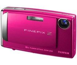 Bundle: Fuji Z10 Digital Camera in Pink + Hard Case +2GB SD