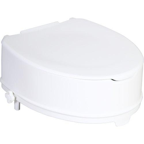 Patron ZRERHI01230300 WC-Sitzerhöhung mit Deckel, Apollo-V / Ares, 14 cm