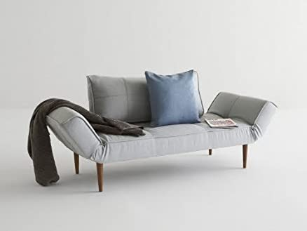 INNOVATION - ZEAL divano letto grigio perla del pacifico