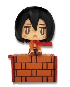 Attack On Titan Ear Phone Jack Figure~Mikasa Ackerman