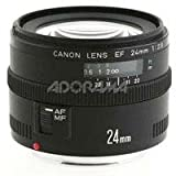 Canon EF 24mm f/2.8 Wide Angle Lens for Canon SLR Cameras