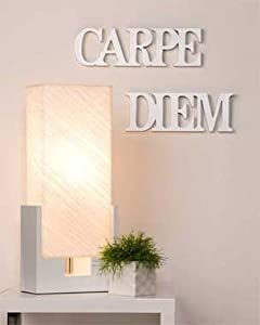 Wall letters, Wall Decor, Wall Art - Carpe Diem - silver from Only4You