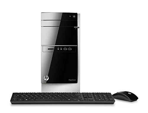 Newest Model HP Pavilion Desktop – AMD Quad-Core A8-6410 Processor, 8GB DDR3 Memory, 2TB 7200rpm HDD, Multiformat DVD±RW/CD-RW drive, Windows 8.1 64-bit free upgrade to Windows 10