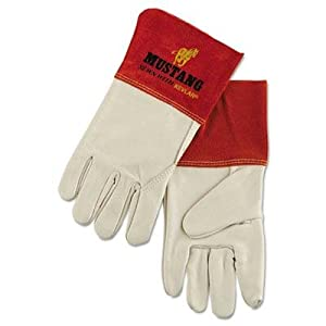 Memphis Mustang Mig/Tig Welder Gloves Tan Extra Large 12 Pairs by Original Equipment Manufacturer