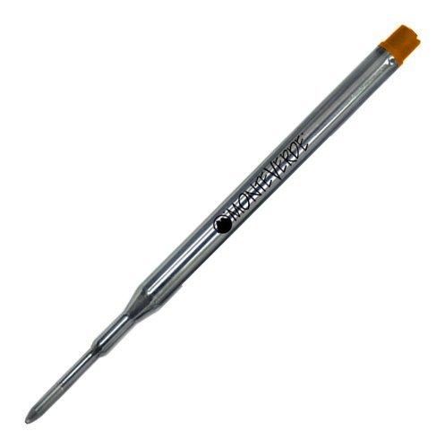 Monteverde Recharge pour stylo à bille pour stylos à bille Sheaffer-S133BN (Brun moyen)
